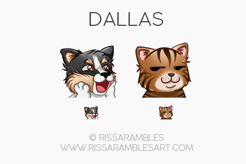 Twitch Emotes for Dallas | Twitch TV Emotes | New Twitch Emotes