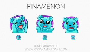 | Custom Twitch Emotes | Emote Commissions | Mixer Emotes | YouTube Emojis | Bear Emotes