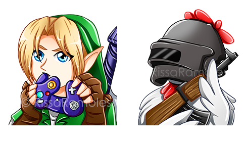 Custom Avatars | Twitch and Mixer Avatars | Commissions | RissaRamblesArt.com