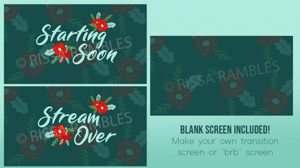 Christmas Stream Graphics | Christmas Themed Overlays