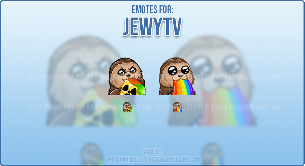 Custom Star Wars Twitch Emotes | Emotes and Badges for Twitch | RissaRambles