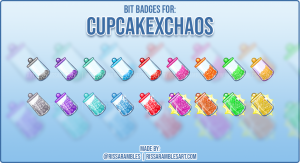 Custom Twitch Cheer Badges | RissaRambles