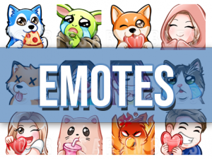Twitch Emotes and Sub Badges Download | RissaRambles